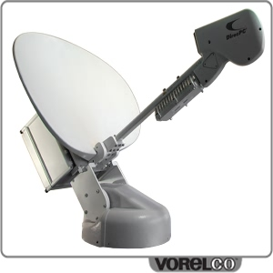 First Robotic satellite dish deployment technology